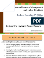 Chapter 10 Human Resources Management and Labor Relations