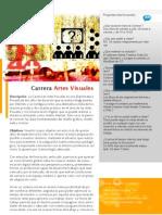 Carrera Artes Visuales