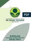 """Katalog udruženja za lekovito bilje """"Dr Jovan Tucakov"""" iz Soko banje"""