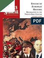 Epochs of European Civilization - Reformation to the Twenty-First Century