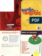 Banjo Kazooie - AU Manual - N64