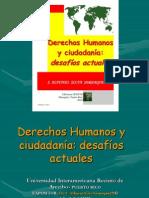 Derechos Humanos y Ciudadania