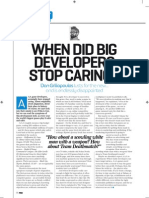 When Did Big Developers Stop Caring? - PSM3