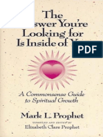 The Answer You'Re Looking for is Inside - Prophet_ Mark L
