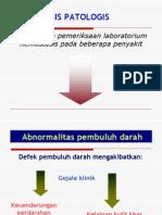 hemostatis Patologis