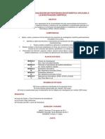 DIPLOMADO DE ESPECIALIZACIÓN DE POSTGRADO EN ESTADÍSTICA APLICADA A LA INVESTIGACIÓN CIENTÍFICA