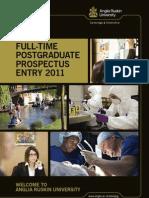 Study at Anglia Ruskin University
