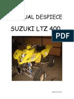 Suzuki Ltz 400 Manual de Despiece
