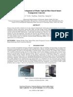 research paper on translucent concrete