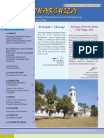 AADHARSHILA - a bi-annual newsletter of Dept. of Civil Engineering, Assam Engineering College