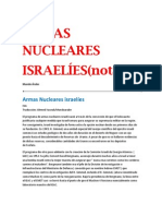 ARMAS NUCLEARES ISRAELÍES(notas)