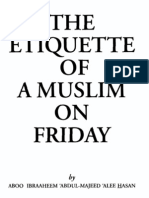 Friday Prayer Etiquette