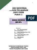 Latihan Soal UN Bahasa Indonesia 1