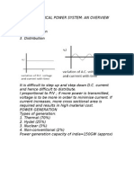 BASIC ELECTRICAL POWER SYSTEM