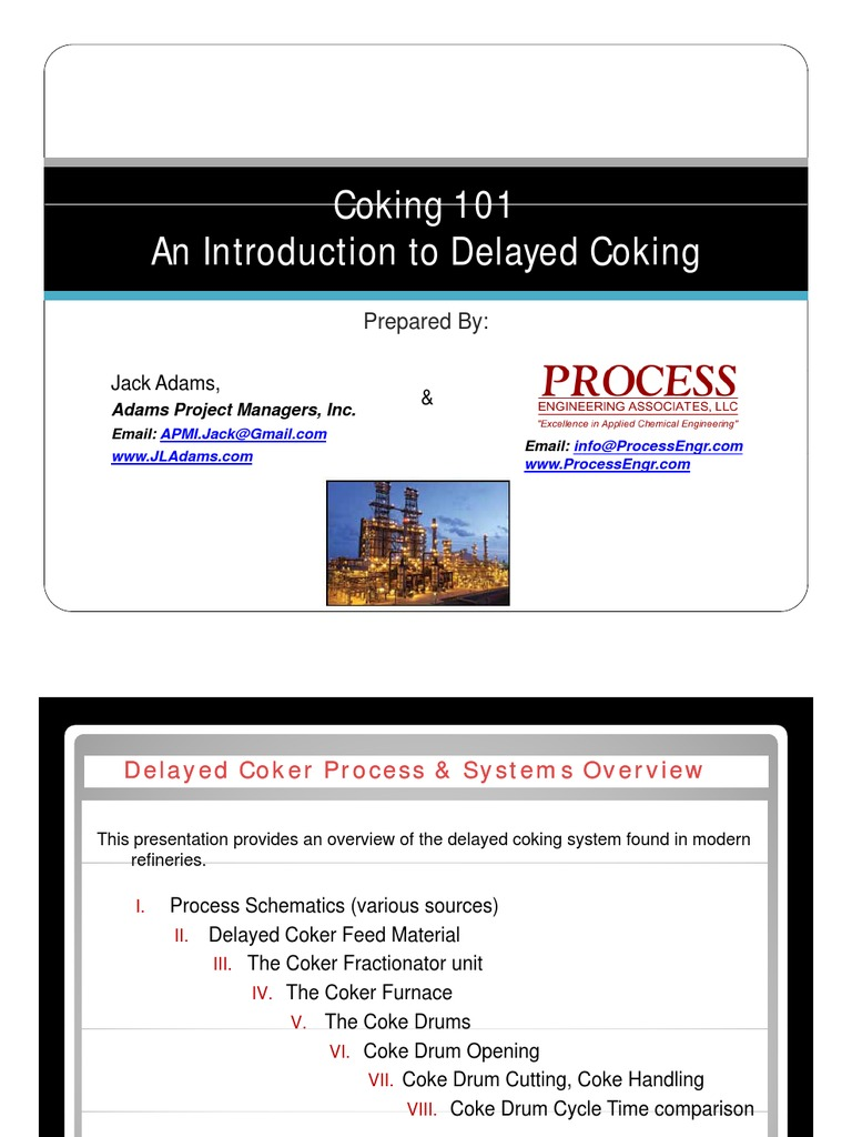 Delayed Coking Chemical Substances Process Engineering Furnace Schematic