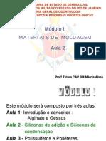 PEC-ASB - Materiais de Moldagem - Aula 2