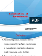 Complications of Sinusitis