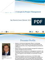 Lean Concepts in Project Mgmt