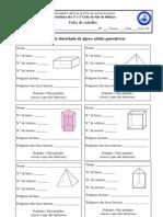 FT3 - BI Dos Solidos Geometricos