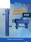 JCI Process Filter Separator Technical Brochure