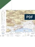 Bandar Abbas topographic map