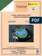 Grupos Cooperativos Locales. PUNTOS DE CONEXION (Es) Co-operative Local Groups. CONNECTION POINTS (Es) Kooperatiben Tokiko Taldeak. LOTURA-PUNTUAK (Es)