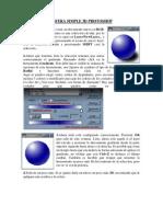 Esfera Simple 3d Photoshop