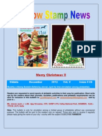 Rainbow Stamp News December 2012