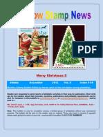 Rainbow Stamp News December 2012