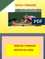 PEDAGOGIA Y DIDÀCTICA