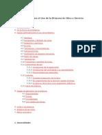 Instructivo para el Uso de la Bitácora de Obra o Servicio