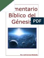 Comentario Bíblico del Génesis (trabajo de investigación)