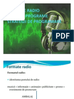 Formate Radio, Grile de Programe, Strategii de Programare