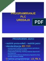 Programiranje PLC uređaja