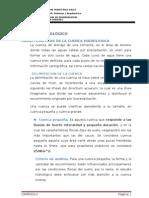Estudios Hidrologicos de Badenes