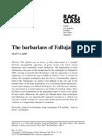 """The barbarians of Fallujah"" by Matt Carr"