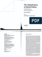 The Globalization of World Politics. Introduction to International Relations Theory