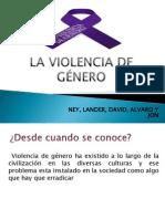 LA VIOLENCIA DE GÉNERO