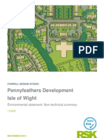 Pennyfeathers Development  Isle of Wight 