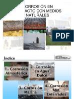 Corrosion en Medios Naturales