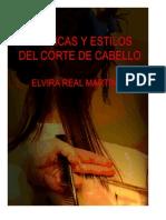 TÉCNICAS Y ESTILOS DE CORTE DE CABELLO PDF manual