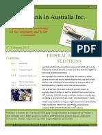 Pakistanis in Australia Vol.3 issue 3