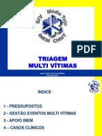 SIV Nov2012_TriagemMultiVitimas_Formação