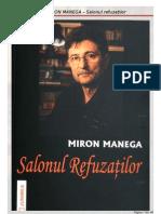 Miron Manega - Salonul Refuzaţilor