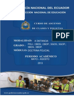 Modulo No. 1 Doctrina Policial -27!10!2012