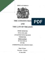 Treason Charges Against Australian Public Servants