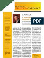 Actualidad Insuficiencia Cardiaca Septiembre 2012