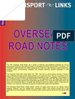 overseas road notes