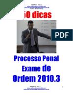 Dicas processo penal