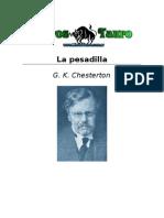 G. K. Chesterton - La Pesadilla
